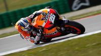 L'Espagnol Dani Pedrosa (Honda) a remporté dimanche le Grand Prix d'Indianapolis de Moto GP, devançant sur le circuit américain son compatriote Jorge Lorenzo (Yamaha) et l'Italien Andrea Dovizioso (Yamaha).[ANP]