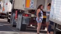 Des prostituées dans une rue de Lyon, en juin 2012 [Philippe Desmazes / AFP/Archives]