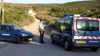 Des gendarmes en Corse près de Bonifacio, le 2 juillet 2012 [Pascal Pochard-Casabianca / AFP/Archives]