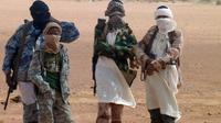 Des membres du groupe Ansar Dine le 7 août 2012 à Kidal au Mali [Romaric Ollo Hien / AFP/Archives]