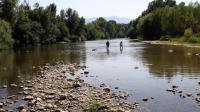 La rivière du Tech près de Perpignan, en août 2012 [Raymond Roig / AFP/Archives]