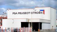 L'usine PSA Peugeot Citroën de La Janais à Chartres-de-Bretagne le 28 août 2012