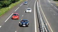 Des voitures sur une route [Thomas Bregardis / AFP/Archives]