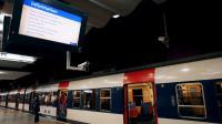 Le quai du RER B à la gare de Nord à Paris [Thomas Samson / AFP/Archives]