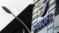 Le logo du groupe pharmaceutique Sanofi [Eric Piermont / AFP/Archives]