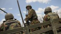 Des membres de la Force de l'Union africaine en Somalie, le 30 septembre 2012 à Dhobley. [Stuart Price / AFP/Archives]