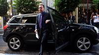 Le ministre grec des Finances, Yannis Stournaras, le 5 octobre 2012 à Athènes [Aris Messinis / AFP/Archives]