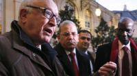 Abdallah Zekri, président de l'Observatoire contre l'islamophobie, le 8 novembre 2012 à l'Hôtel Matignon à Paris [Pierre Verdy / AFP/Archives]