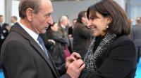Bertrand Delanoë et Anne Hidalgo le 29 décembre 2012 à Paris [Eric Piermont / AFP/Archives]