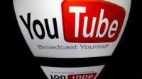 Le logo de YouTube [Lionel Bonaventure / AFP/Archives]