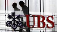 Logo de la banque suisse UBS à Zurich [Fabrice Coffrini / AFP/Archives]