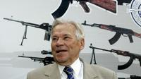 Mikhaïl Kalachnikov, père du célèbre fusil d'assaut produit en Russie, le 7 août 2007 à Izhevsk [Maxim Marmur / AFP/Archives]