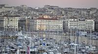 Vue du Vieux-Port de Marseille le 3 janvier 2013 [Gerard Julien / AFP/Archives]