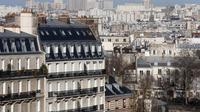 Des immeubles parisiens [Thomas Samson / AFP/Archives]