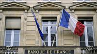 Le fronton de la Banque de France à Paris [Lionel Bonaventure / AFP/Archives]