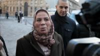 Latifa Ibn Ziaten, la mère d'Imad, première victime de Mohamed Merah, à son arrivée le 30 janvier 2013 au ministère de la Justice à Paris [Jacques Demarthon / AFP/Archives]