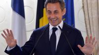Nicolas Sarkozy à Bruxelles, le 27 mars 2013 [Eric Lalmand / Belga/AFP/Archives]