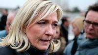 La présidente du FN, Marine Le Pen, le 3 avril 2013 à Charleville-Mézières (nord est) [Francois Nascimbeni / AFP/Archives]