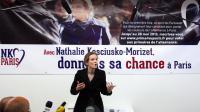 Nathalie Kosciusko-Morizet, le 21 mai 2013 lors d'une conférence de presse à Paris [Matthieu Rater / AFP]