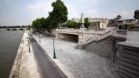 Vue partielle prise le 11 juin 2013 de l'espace de promenade et de loisirs bâti sur la rive gauche de la Seine, à Paris [Claire Lebertre / AFP/Archives]
