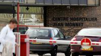 Vue exérieure du centre hospitalier Jean Monnet en date du 13 octobre 2006 à Epinal [Jean-Christophe Verhaegen / AFP/Archives]