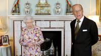 La reine Elizabeth II et son époux le prince Philip, le 6 juin 2013 à Londres [Anthony Devlin / Pool/AFP/Archives]