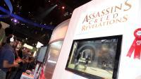 """Des personnes jouent à """"Assassin's creed"""", le 9 juin 2011 à Los Angeles [Valerie Macon / AFP/Archives]"""