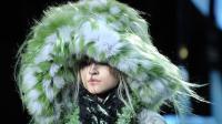 Un chapeau en fourrure de la collection Marc Jacobs, le 13 février 2012 à New York [Stan Honda / AFP/Archives]