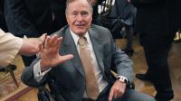 L'ancien président américain George H.W. Bush, le 31 mai 2012 à Washington [Mandel Ngan / AFP/Archives]