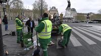 Près de 600 millions d'euros de dépenses publiques injectées dans la propreté à Paris depuis le début de la mandature.