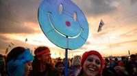 62 % des Européens se disent heureux, soit 2 points de plus qu'en 2013.