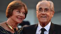 Le couple Macha Méril - Michel Legand s'est marié en 2014, cinquante ans après sa première rencontre, en 1964.