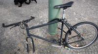 Un grand classique à Paris : perdre une roue, une selle ou un morceau de vélo, lorsque les voleurs n'ont pas réussi en briser le cadenas.