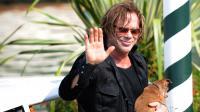 """Mickey Rourke au festival de Venise en 2008 pour """"The Wrestler"""""""