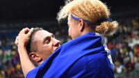 Estelle Mossely et Tony Yoka, le couple en or de la boxe française.