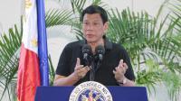 Rodrigo Duterte, lors d'une conférence de presse tenue à Davao le 30 septembre 2016