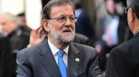 Mariano Rajoy à Bruxelles, après le sommet européen le 21 octobre 2016 à Bruxelles.