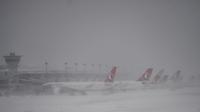 Depuis vendredi, la compagnie Turkish Airlines a dû annuler 660 vols en raison des conditions météorologiques.