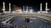 Le pèlerinage à La Mecque, en Arabie Saoudite, le 16 novembre 2010.