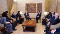 Le président Bachar al-Assad a reçu samedi matin, l'émissaire international Lakhdar Brahimi en mission en Syrie.