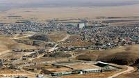 La ville de Sinjar, en Irak, d'où sont originaires les Yazidis.