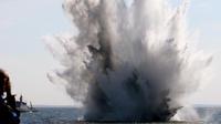 Une explosion en mer Baltique.