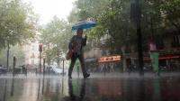 Il pleut sur Paris, le 5 août 2011