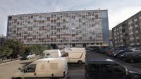 Des immeubles à Clichy-sous-Bois (93).