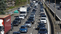 Selon la région, les embouteillages de l'A6 concernent 140.000 salariés, et 24 communes franciliennes.