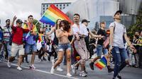 Une gay pride en Suède, pays le plus sûr pour les voyageurs LGBT