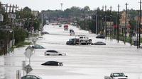 L'ouragan Harvey avait fait au moins 90 morts et 80 milliards de dollars de dégâts matériel