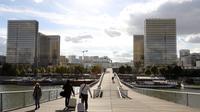 La Bnf s'apprête à rendre hommage à la cathédrale Notre-Dame de Paris en projetant des images de la cathédrale sur ses tours