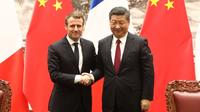 Emmanuel Macron avait effectué sa première visite officielle en Chine en janvier 2018, durant laquelle il s'était entretenu avec son homologue chinois Xi Jinping.