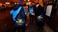 1.700 bénévoles avaient sillonné les rues de Paris, de 22h à 1h du matin.